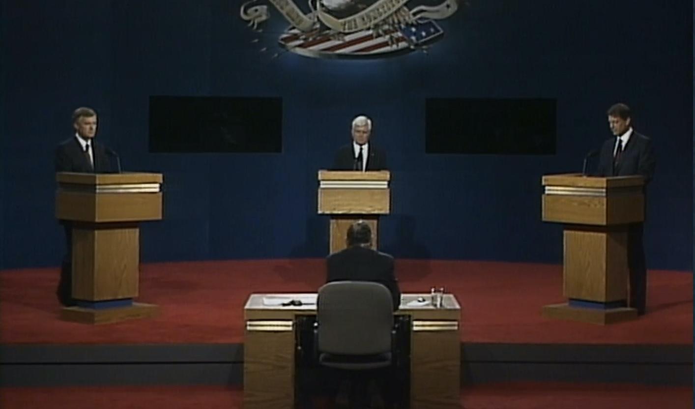 Gore, Quayle, Stockdale: The 1992 vice presidential debate