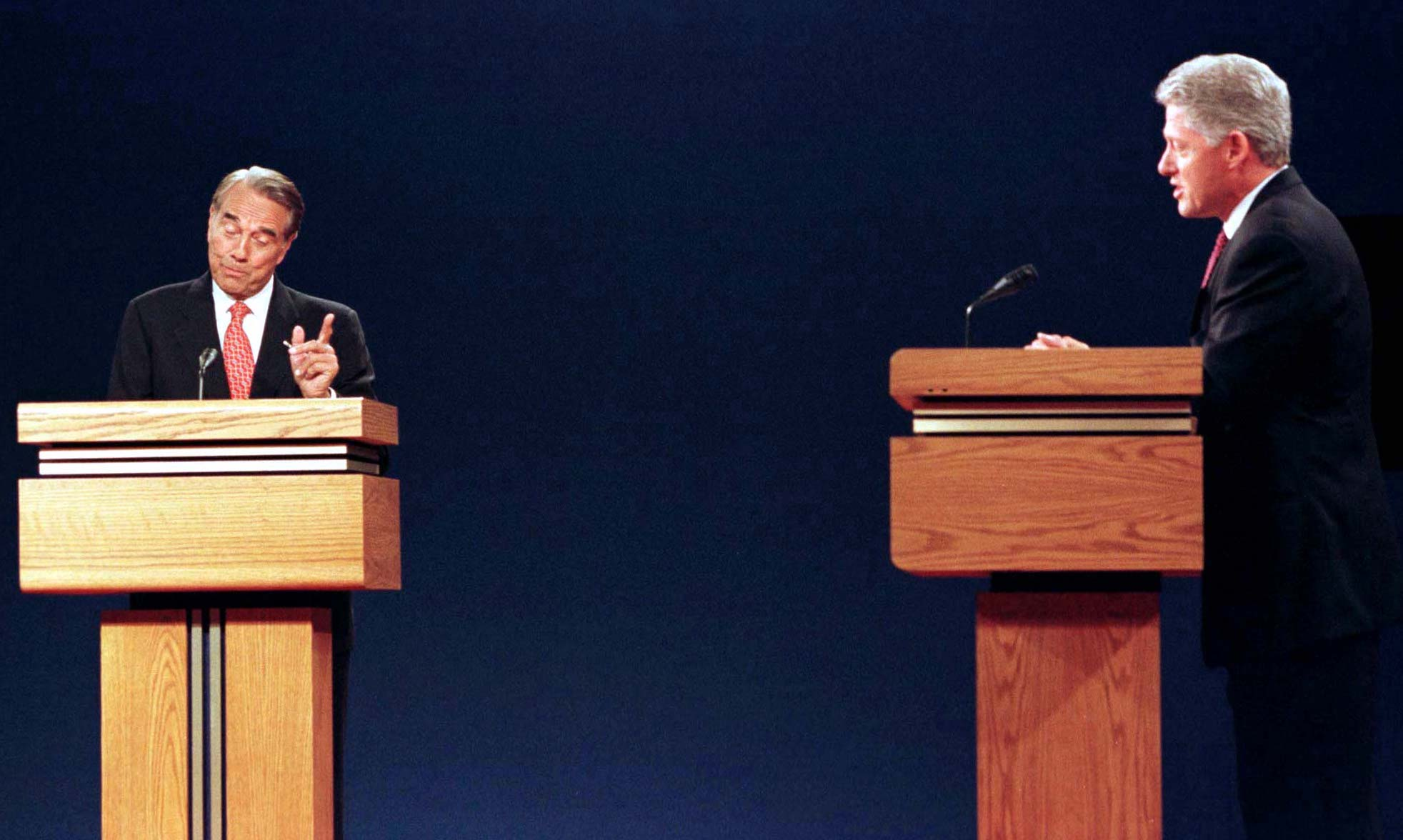 Clinton vs. Dole: The first 1996 presidential debate