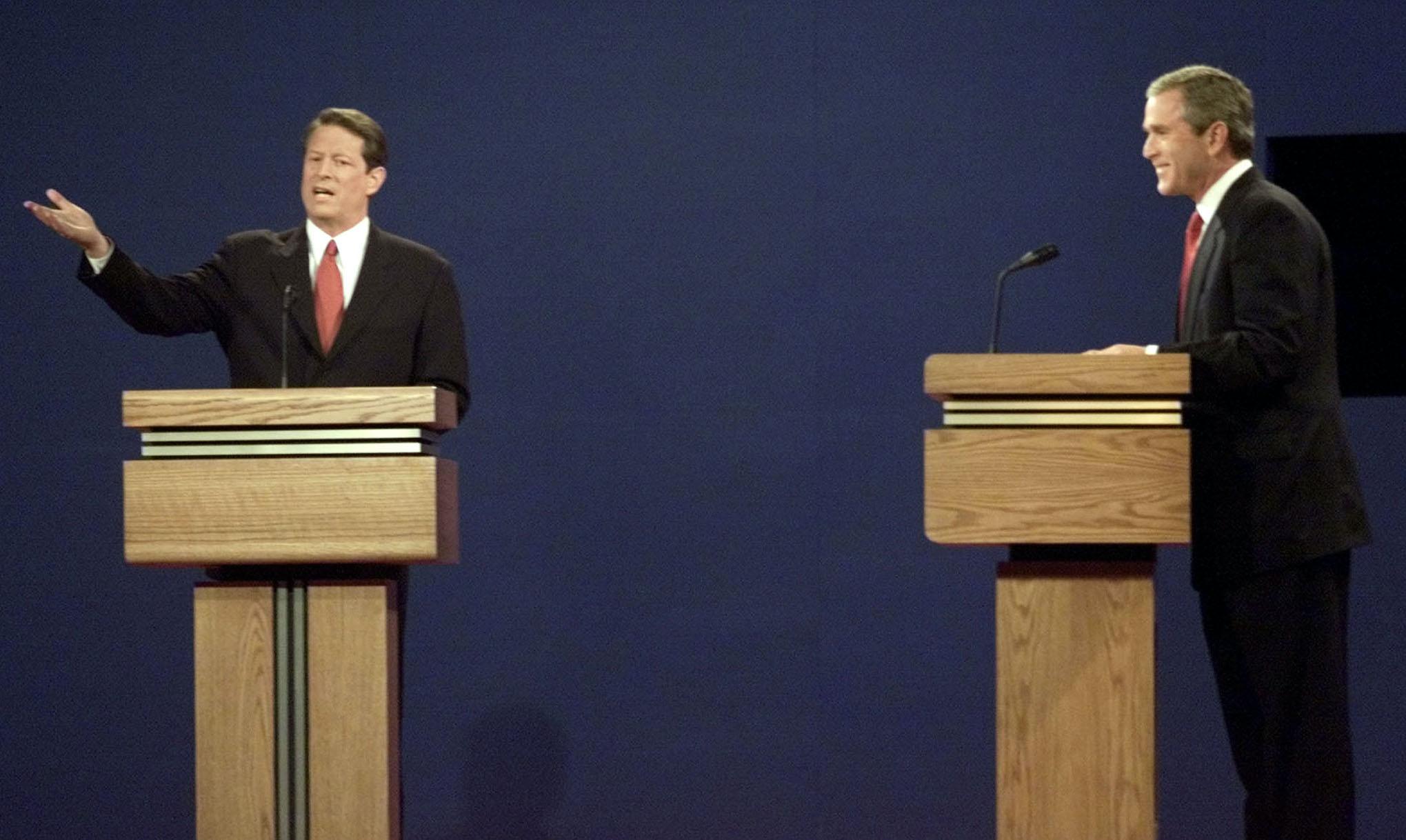 Bush vs. Gore: The first 2000 presidential debate