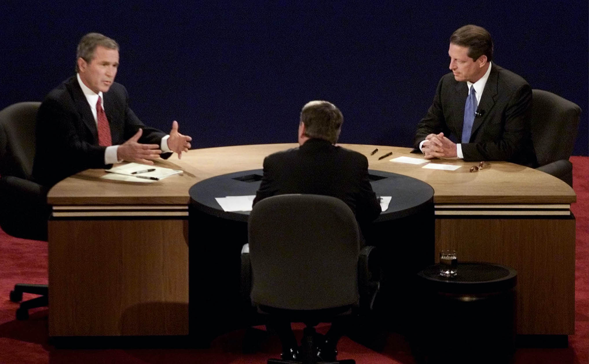 Bush vs. Gore: The second 2000 presidential debate
