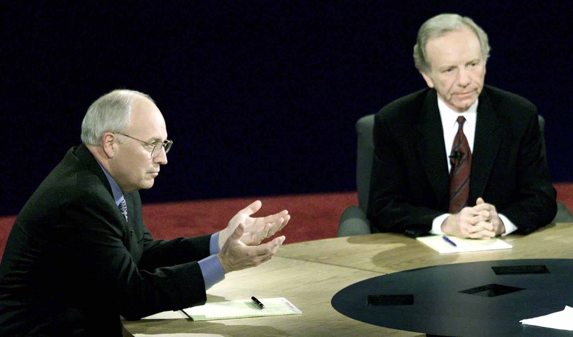 Cheney vs. Lieberman: The 2000 vice presidential debate