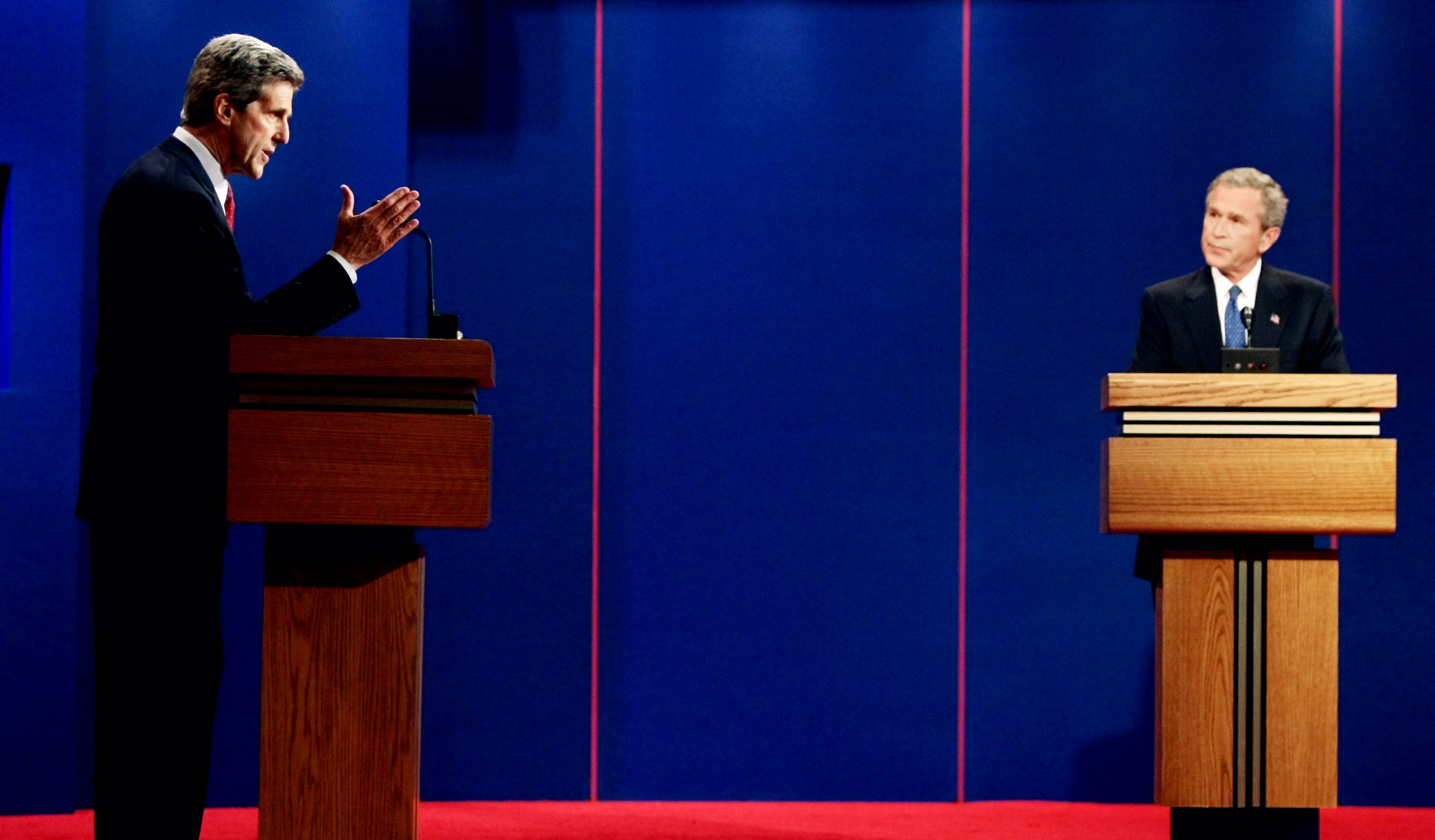 Bush vs. Kerry: The first 2004 presidential debate