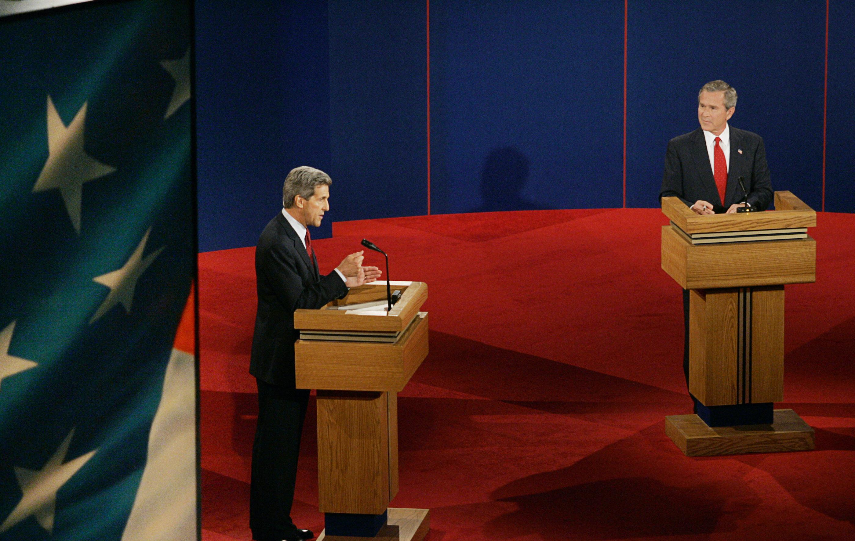 Bush vs. Kerry: The third 2004 presidential debate