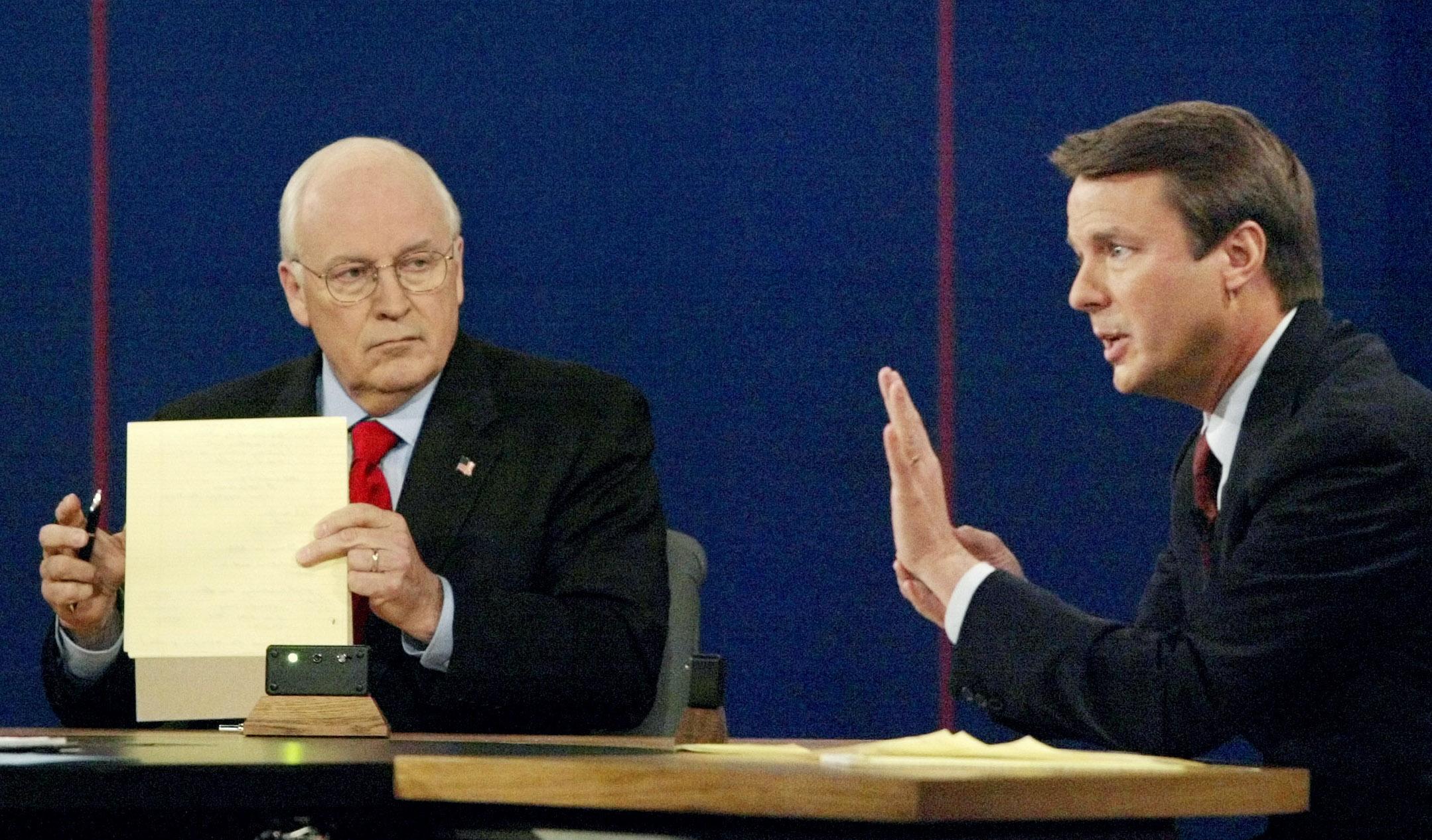 Cheney vs. Edwards: The 2004 vice presidential debate