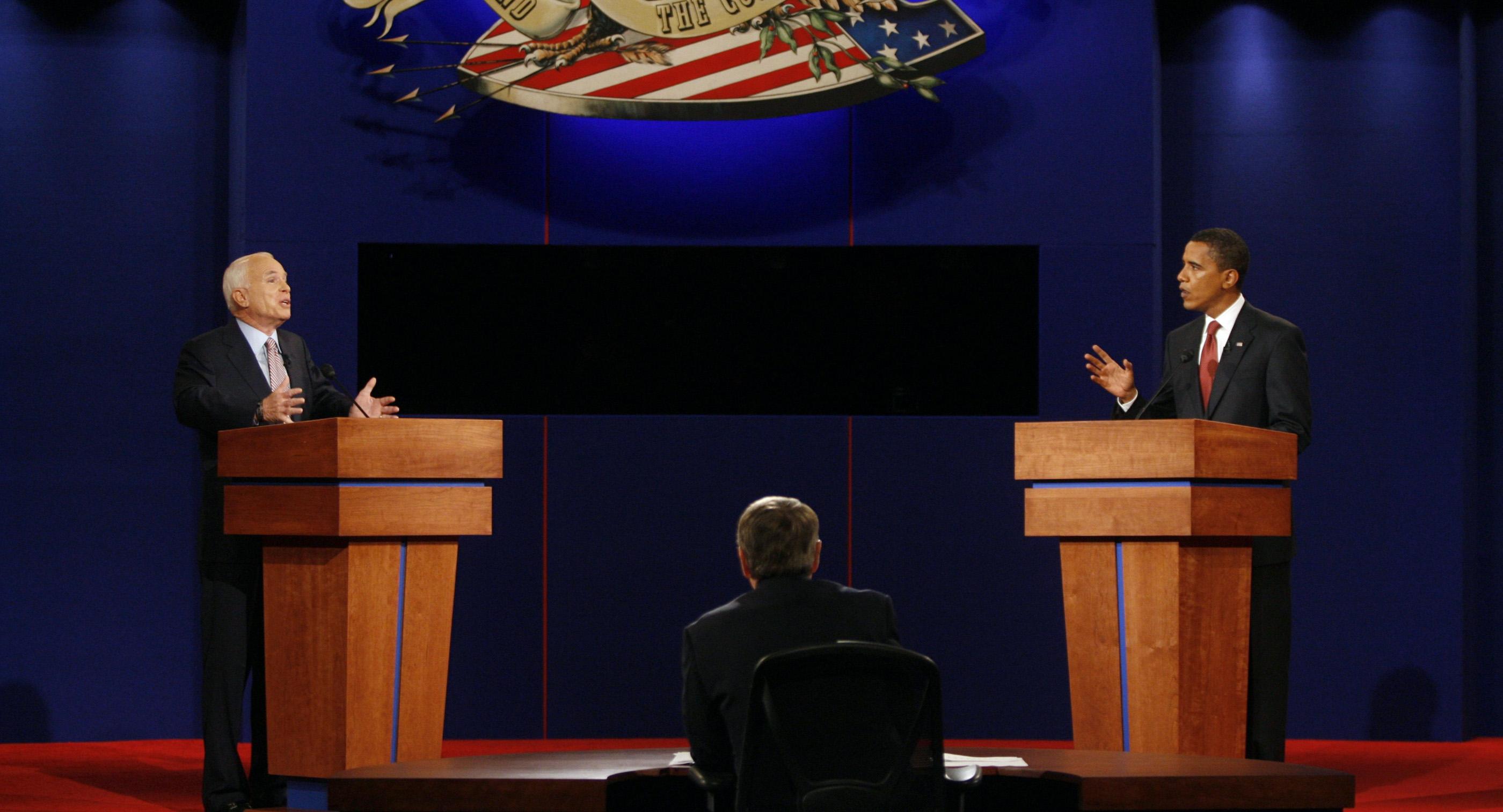 McCain vs. Obama: The first 2008 presidential debate