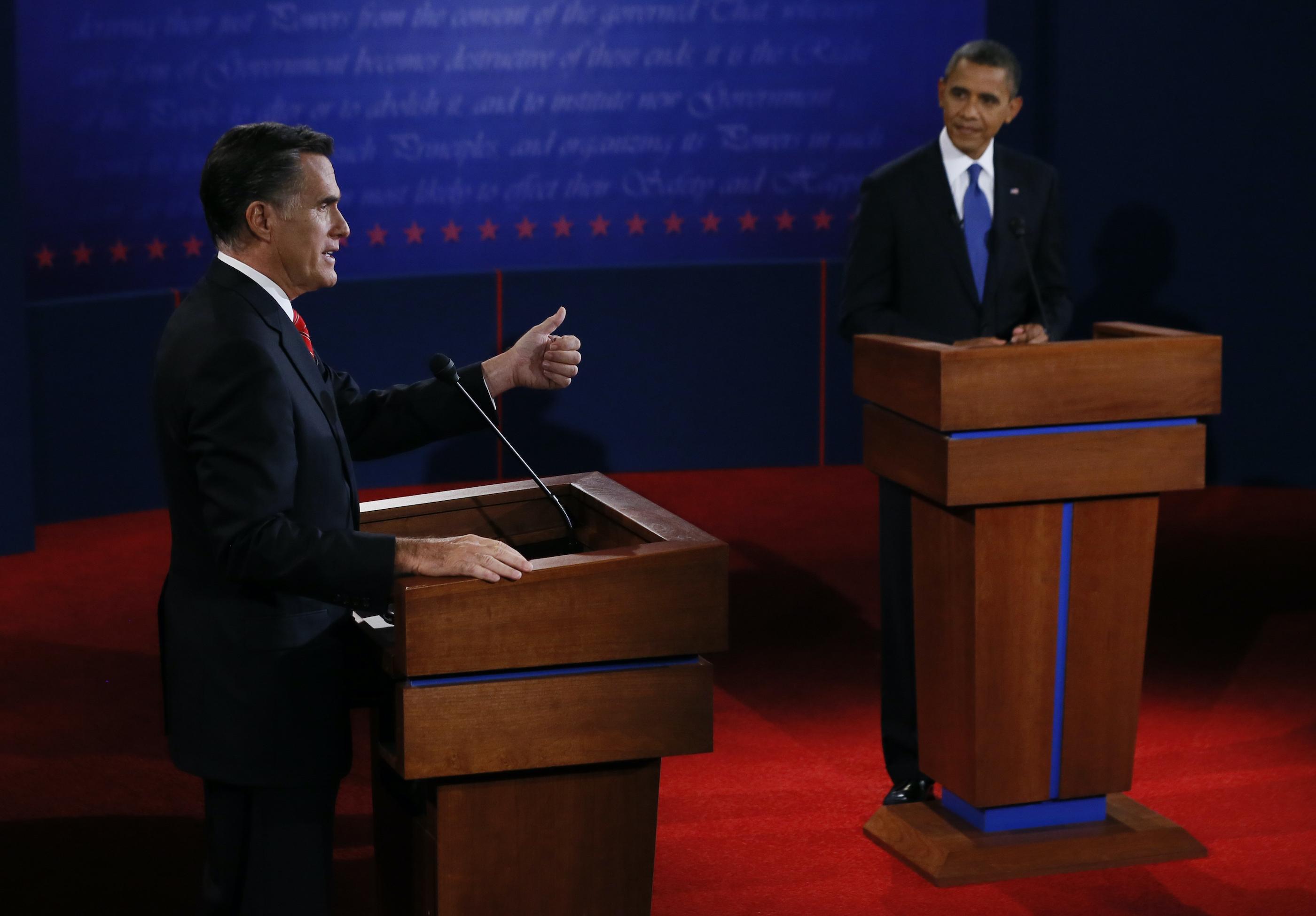 Obama vs. Romney: The first 2012 presidential debate