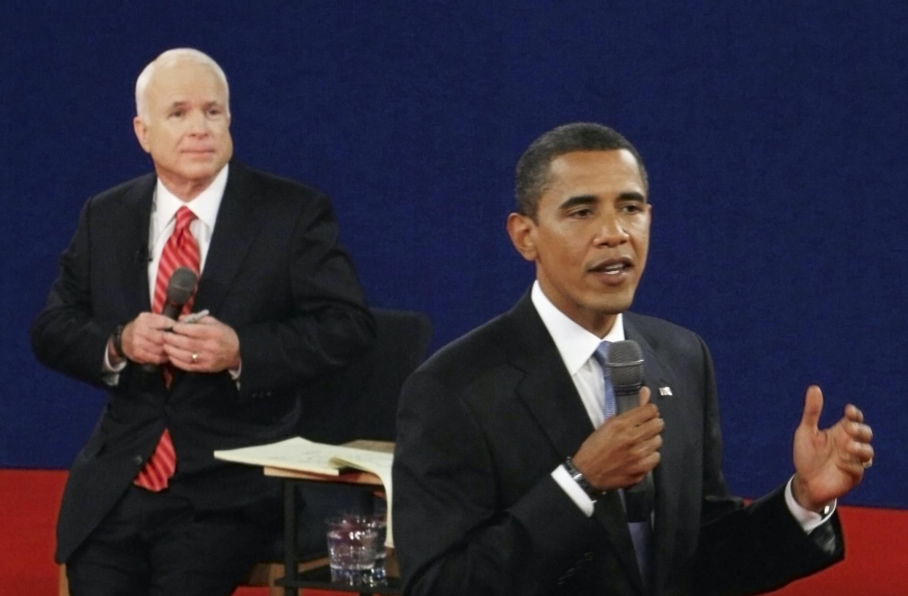 McCain vs. Obama: The second 2008 presidential debate