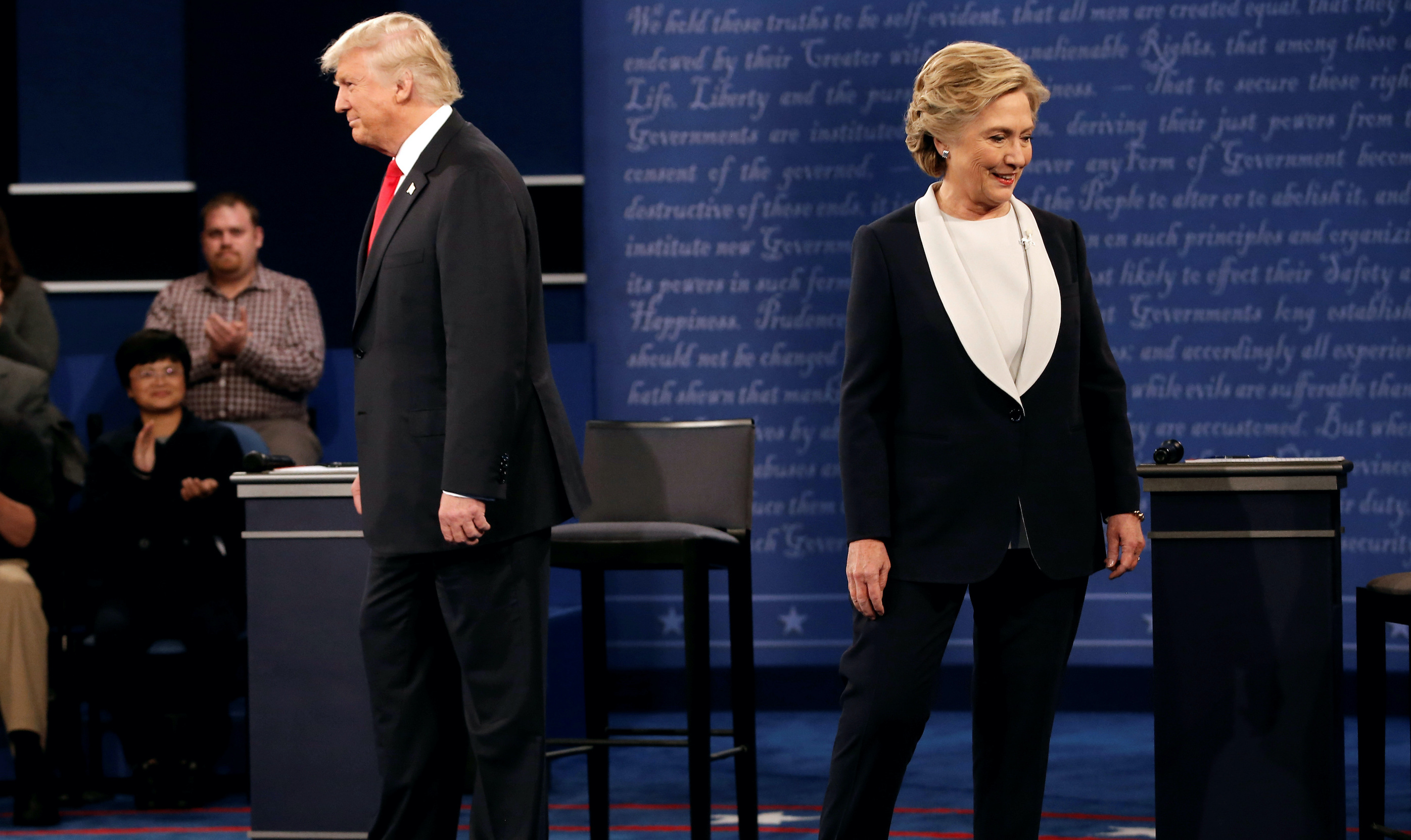 Clinton vs. Trump: The second 2016 presidential debate