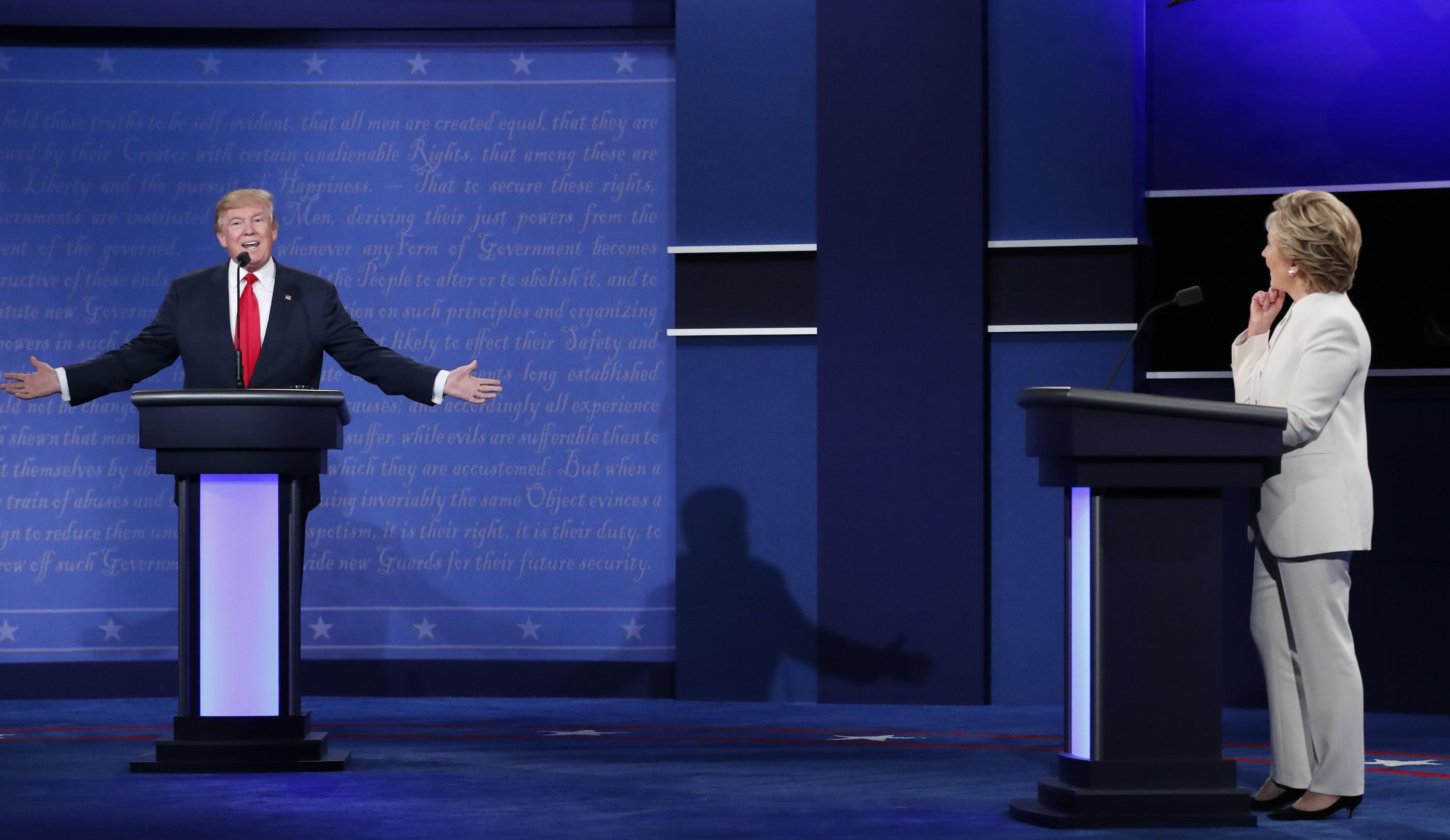 Clinton vs. Trump: The third 2016 presidential debate