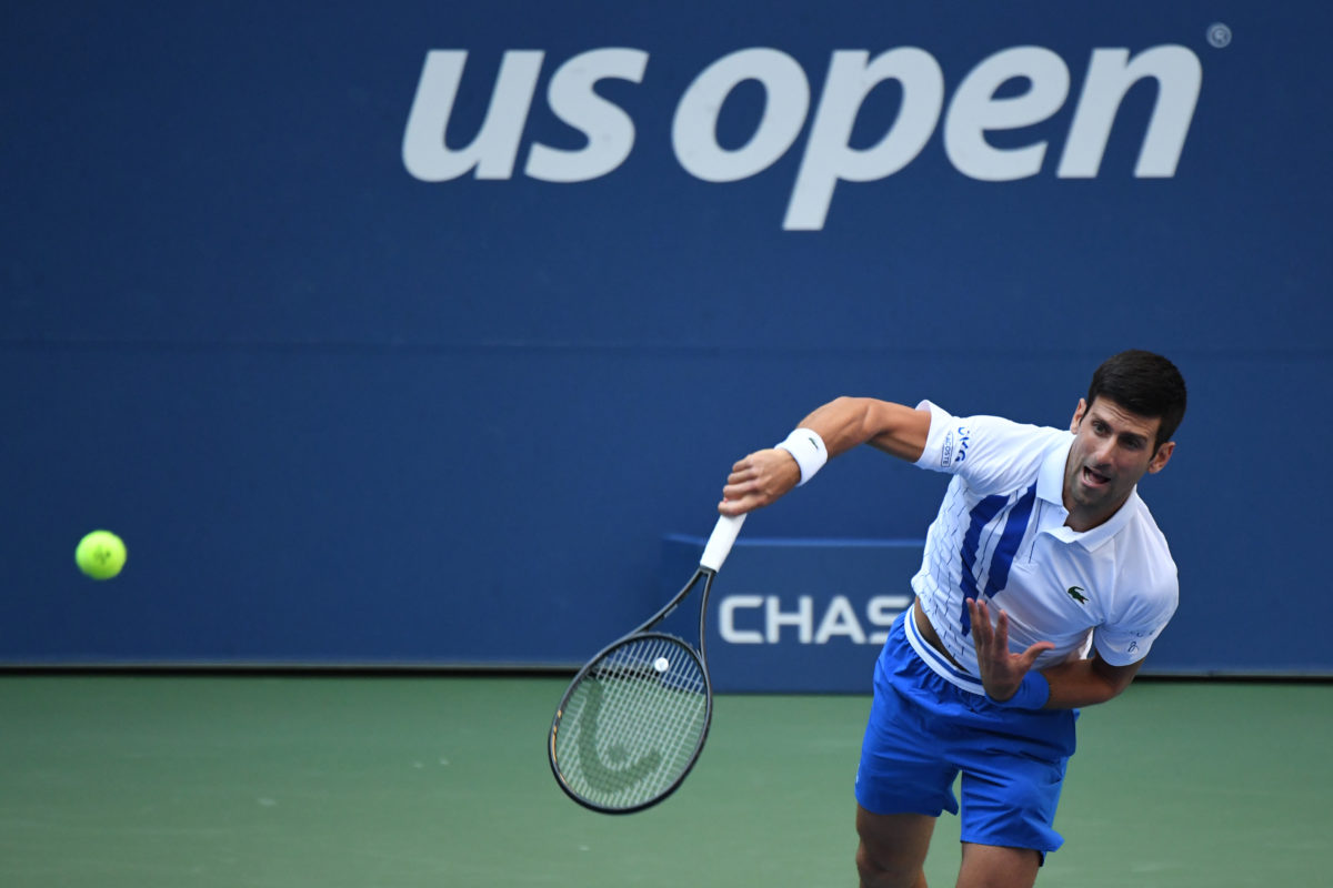 Djokovic Out Of U S Open After Hitting Line Judge With Ball Pbs Newshour Weekend