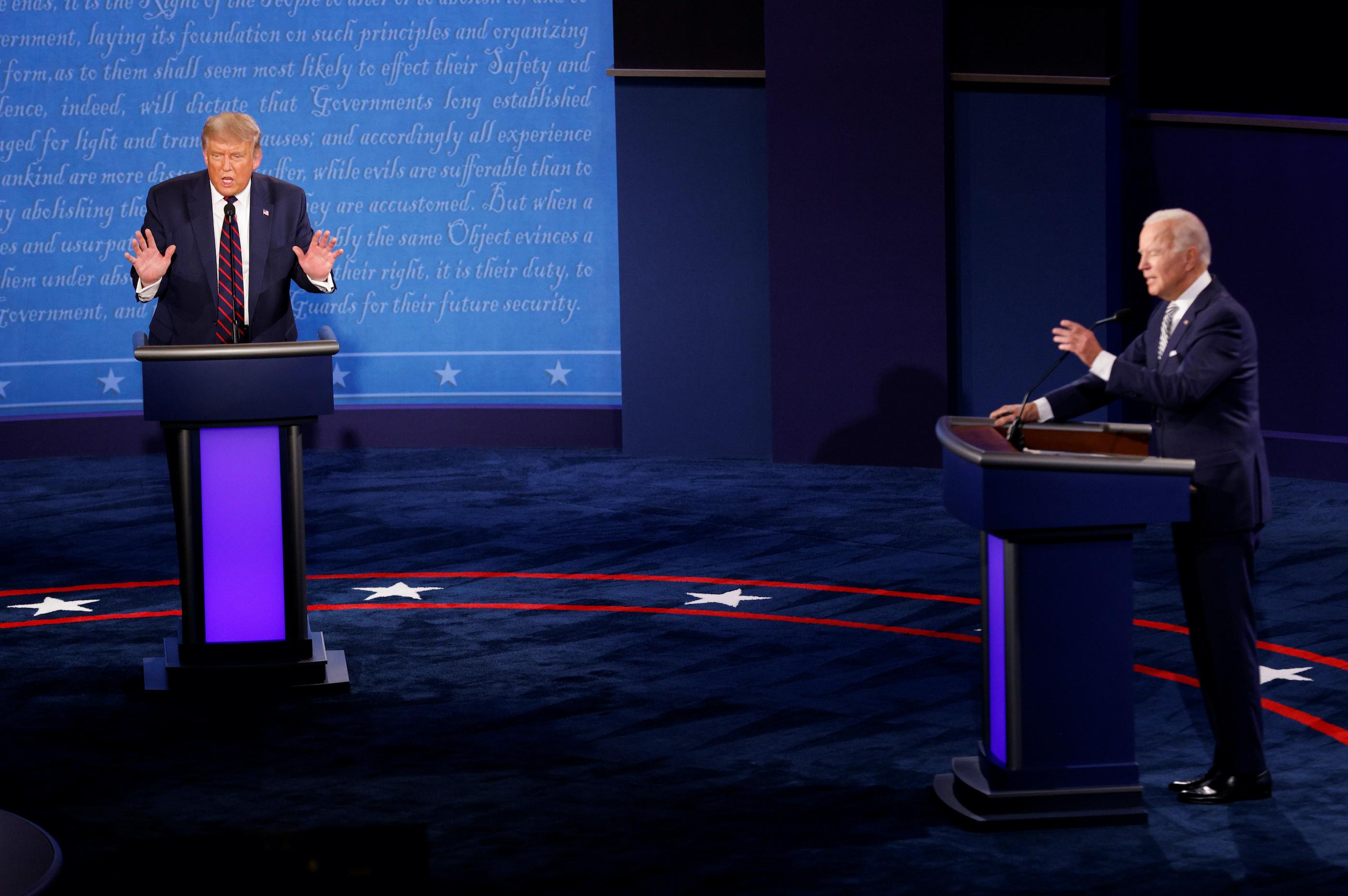 Biden vs. Trump: The first 2020 presidential debate