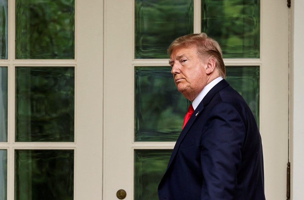 Impeachment Of Trump  - cover