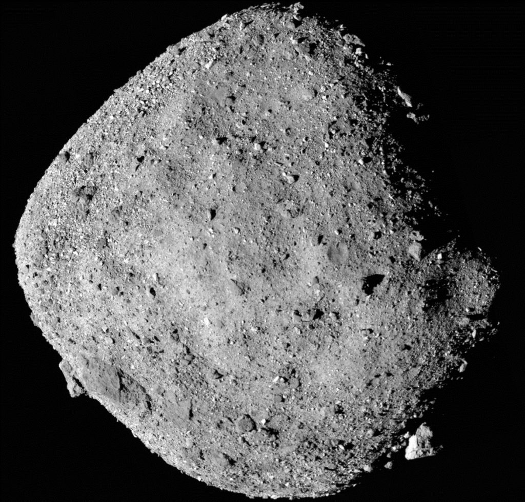 WATCH: NASA releases first images from OSIRIS-REx touchdown on asteroid