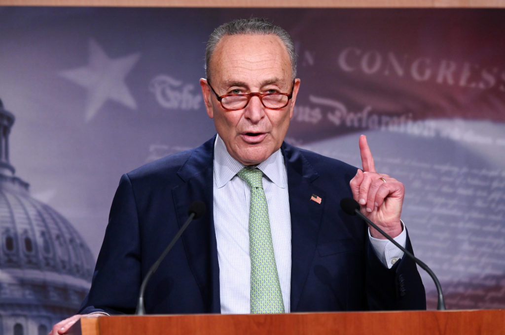 Schumer to raise $2,000 stimulus checks before Senate