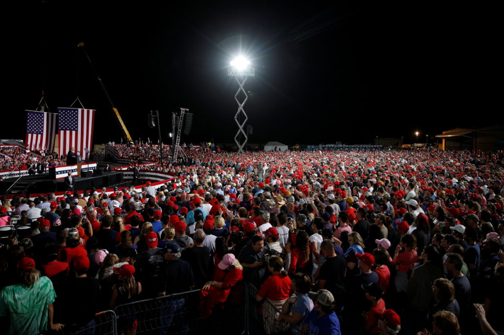 Attendees at Trump rally in North Carolina test positive