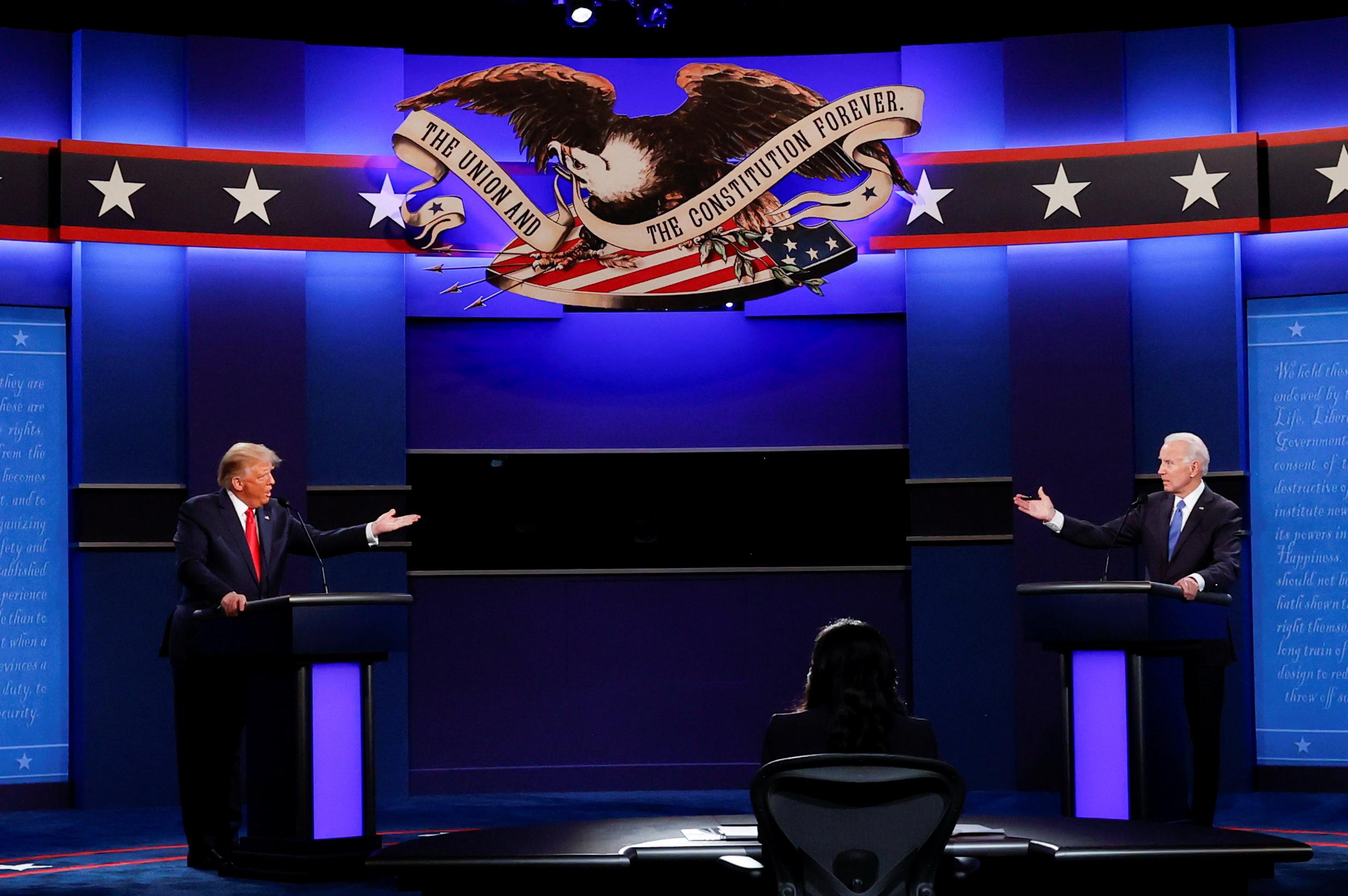 Biden vs. Trump: The second 2020 presidential debate