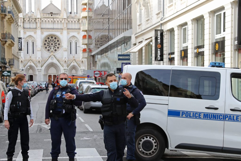 3 dead in knife attack at French church; terrorism suspected