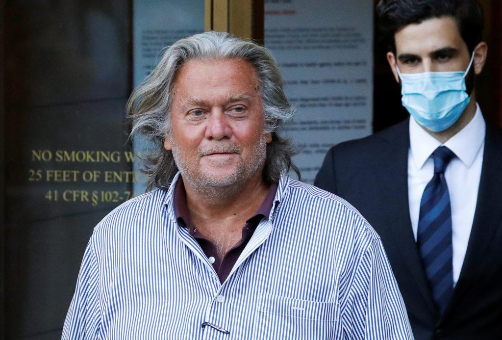 Trump pardons ex-strategist Steve Bannon, dozens of others in final clemency flurry