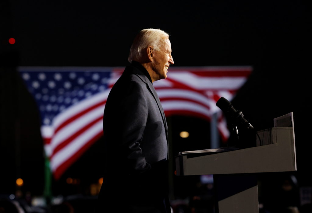 Biden officially secures enough electors to become president