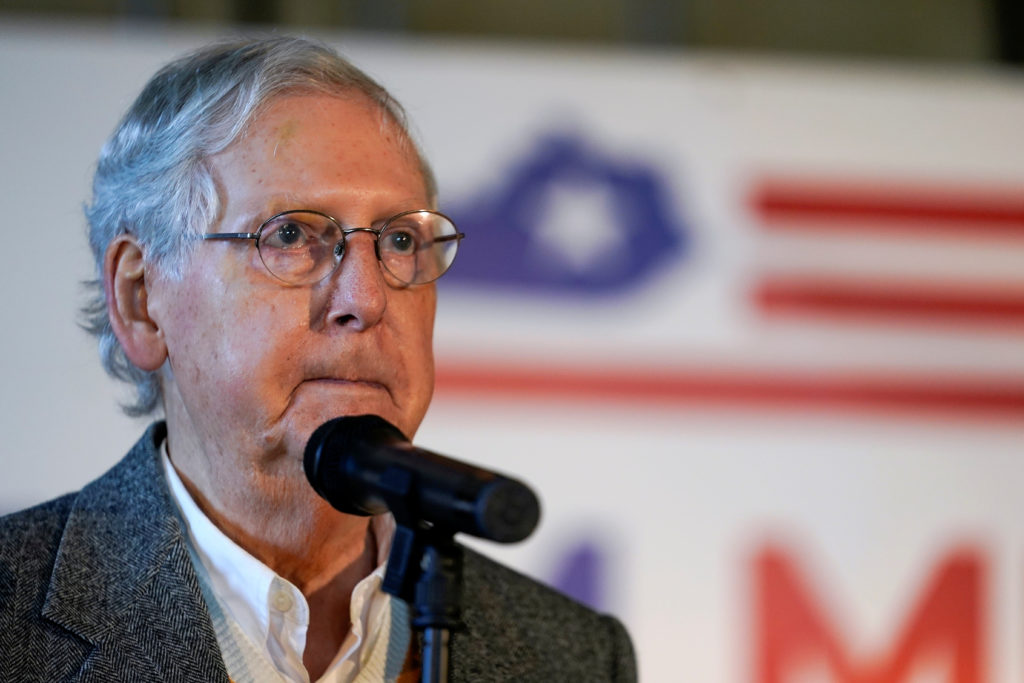 Republicans break with Trump over push to halt vote count