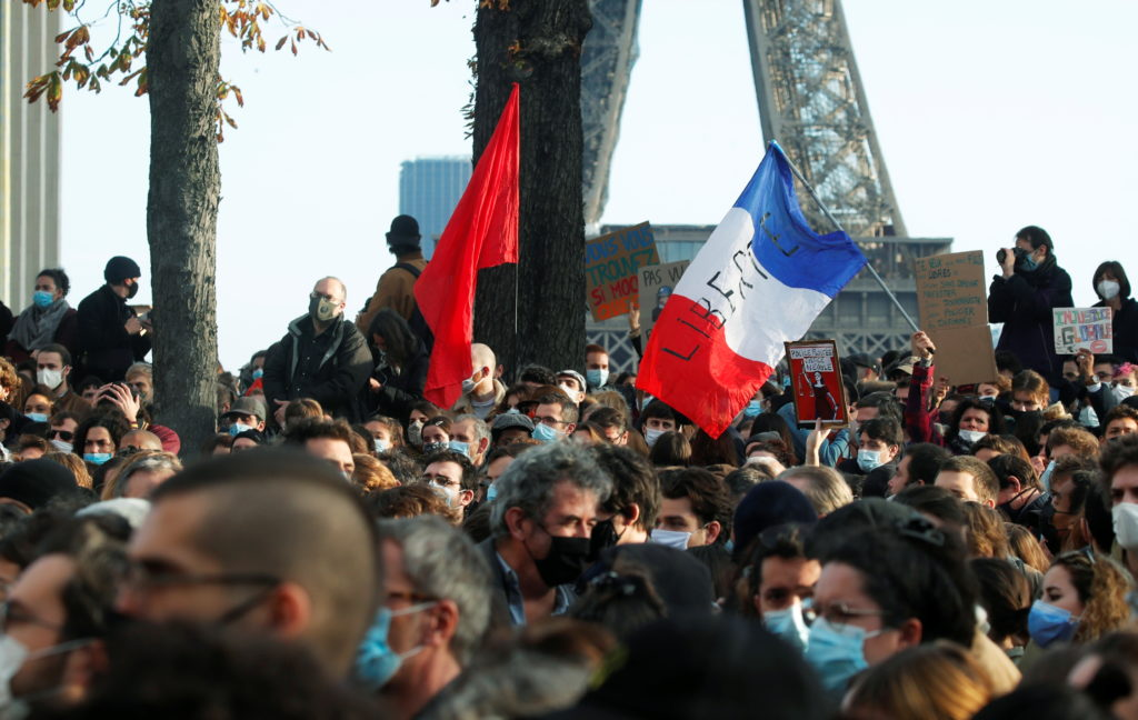 Paris police suspended over beating of Black man
