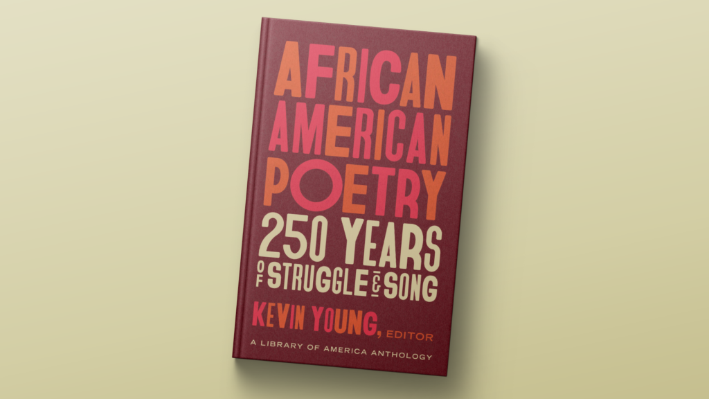 New anthology shares Black poetry's history of 'struggle and song'