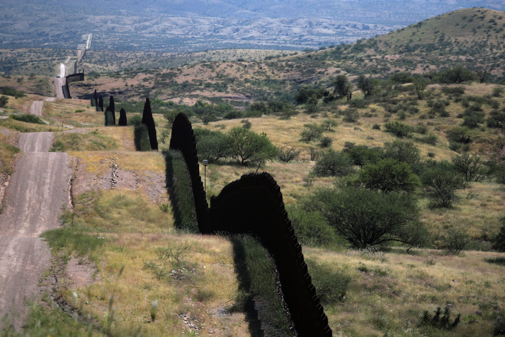 Damage from border wall includes blown-up mountains, toppled 100-year-old cactus
