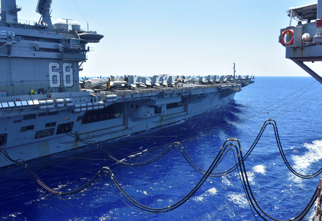 U.S. to move aircraft carrier out of Middle East amid Iran tension