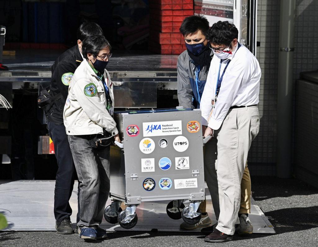 Japan space agency confirms asteroid soil inside landed capsule