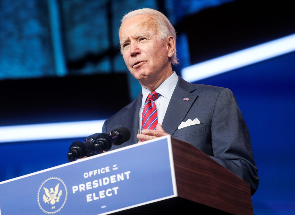 Biden's transition pushes ahead amid grim economic outlook