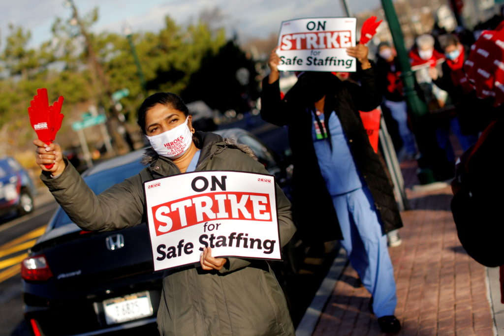 www.pbs.org: Health workers unions see surge in interest amid COVID-19