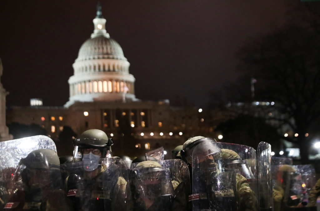 WATCH: Congress reconvenes to count electoral votes after pro-Trump mob breaches U.S. Capitol