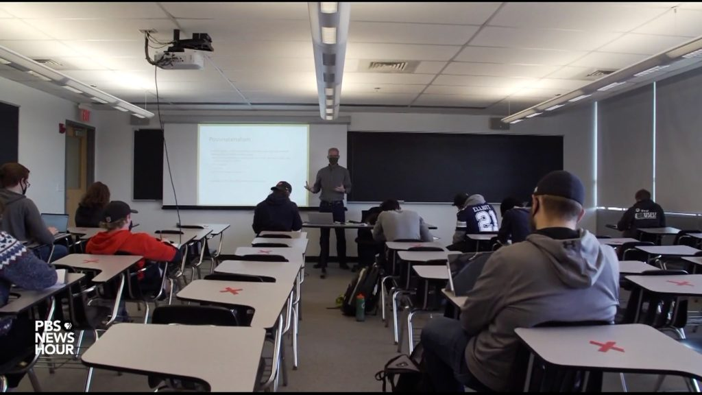 BRN FOCUS   Colleges and universities delay in-person instruction