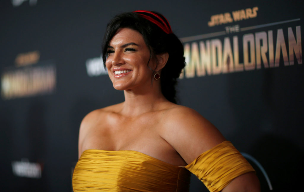Gina Carano fired from 'Mandalorian' after social media post