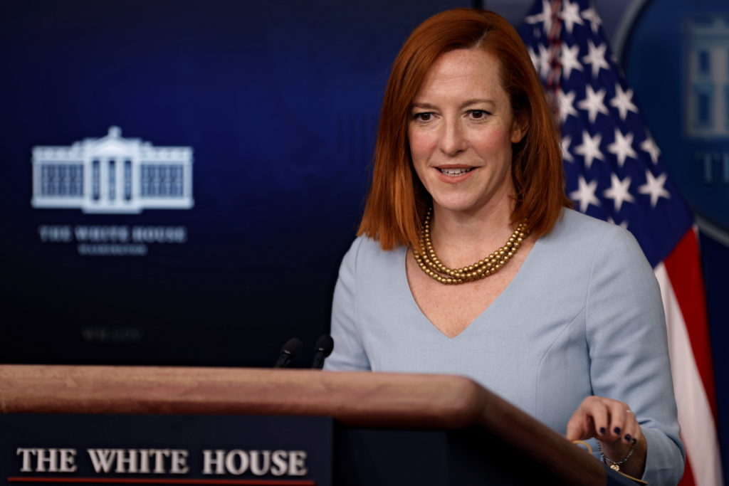 WATCH LIVE: White House Press Secretary Jen Psaki holds briefing
