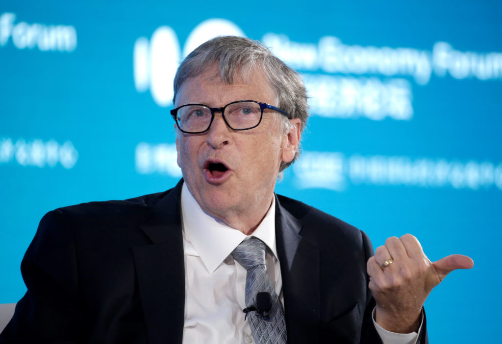 Bill Gates on tackling climate change and the ongoing pandemic response