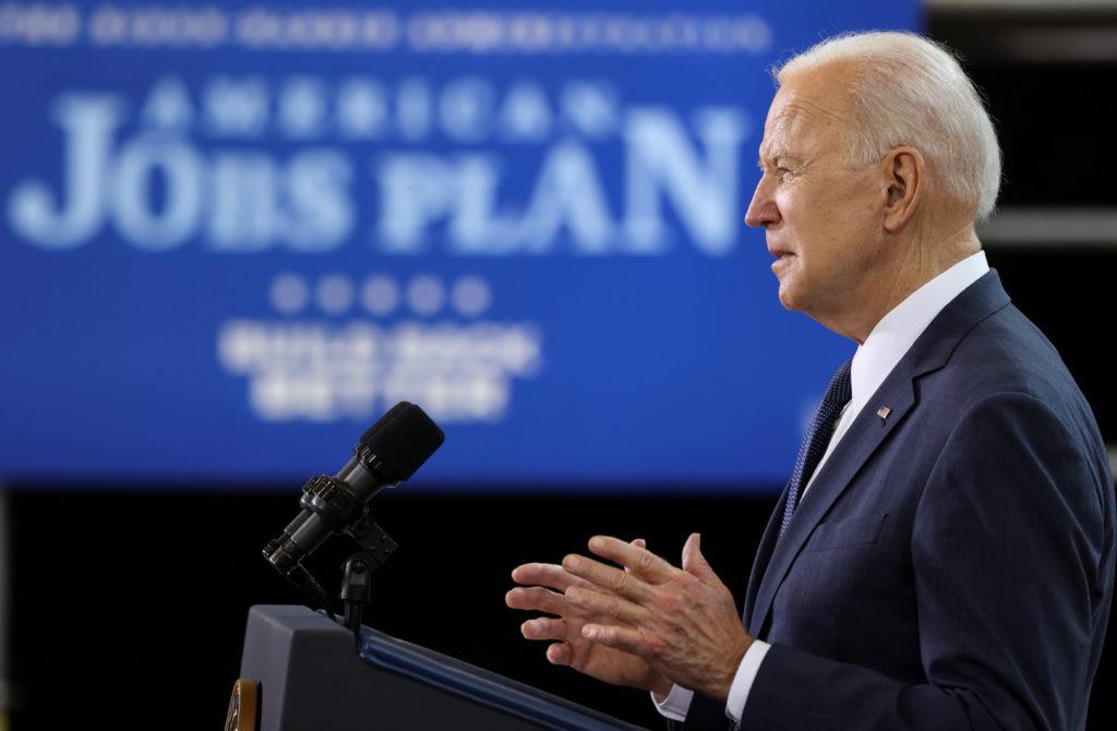 WATCH: Biden credits American people for jobs numbers
