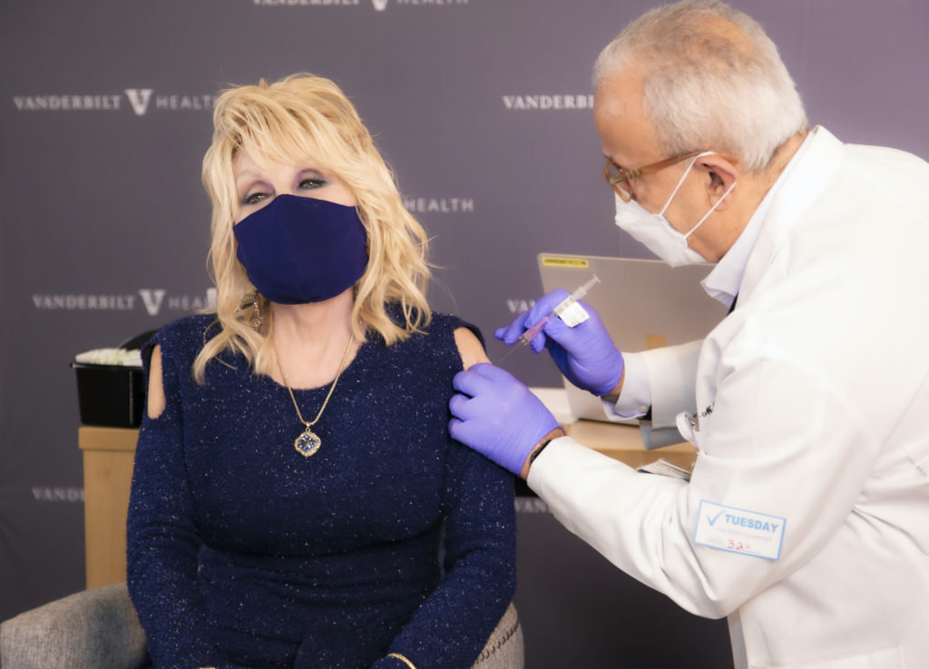 Dolly Parton on the importance of getting vaccinated against COVID-19