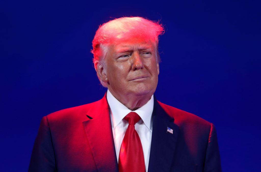 Trump's return at CPAC puts GOP divisions back in the spotlight