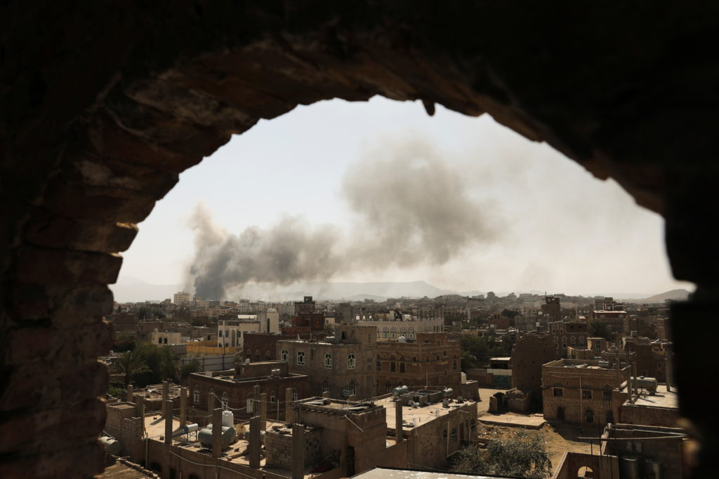 U.N. says 40 civilians died in central Yemen in March