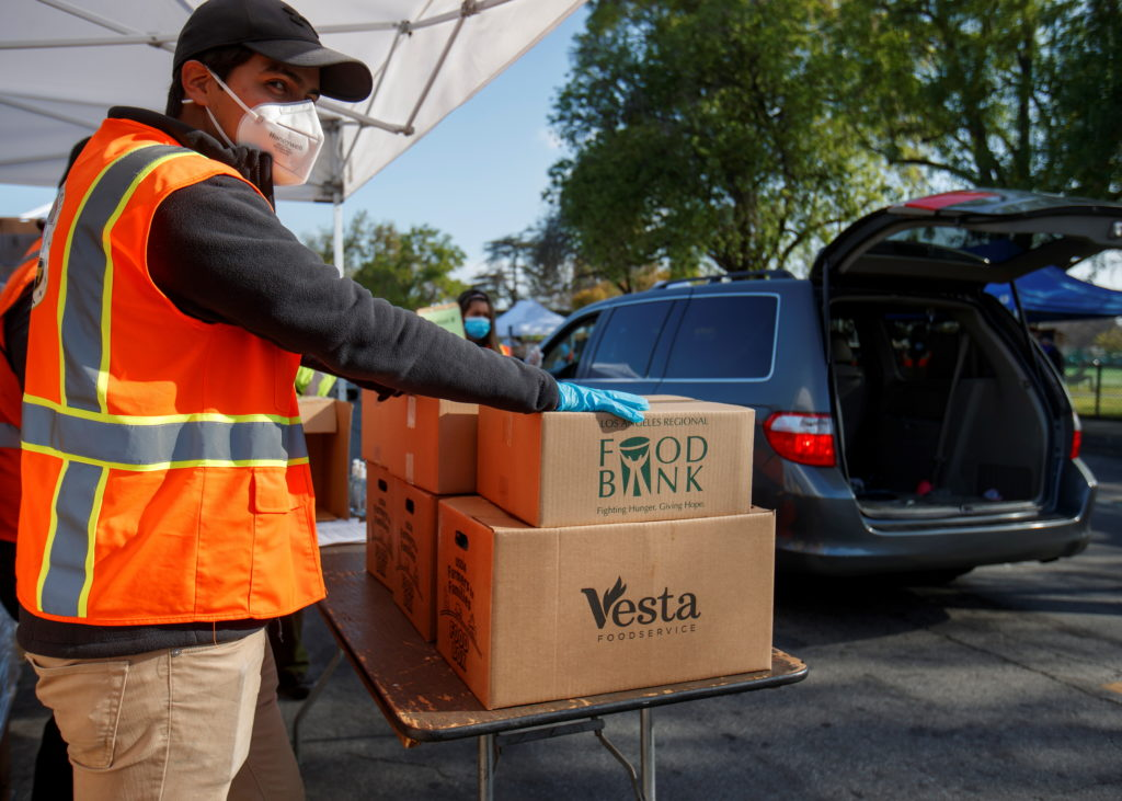 USDA sending $1 billion in funding to country's food bank networks