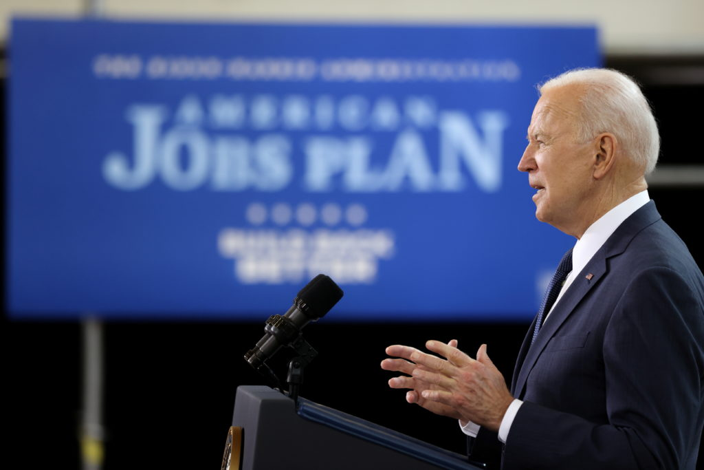 Biden's poll numbers on the economy rival Trump's for the first time