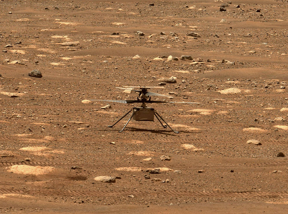 NASA's Ingenuity helicopter prepares to attempt first controlled flight on Mars