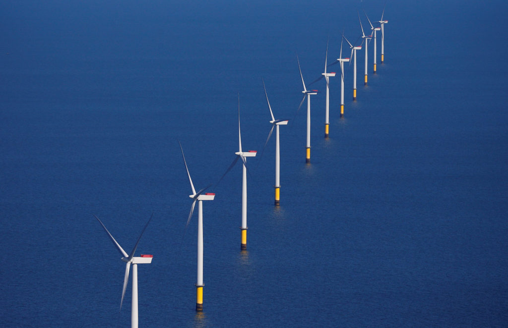 Administration sets plan for 7 offshore wind farms by 2025