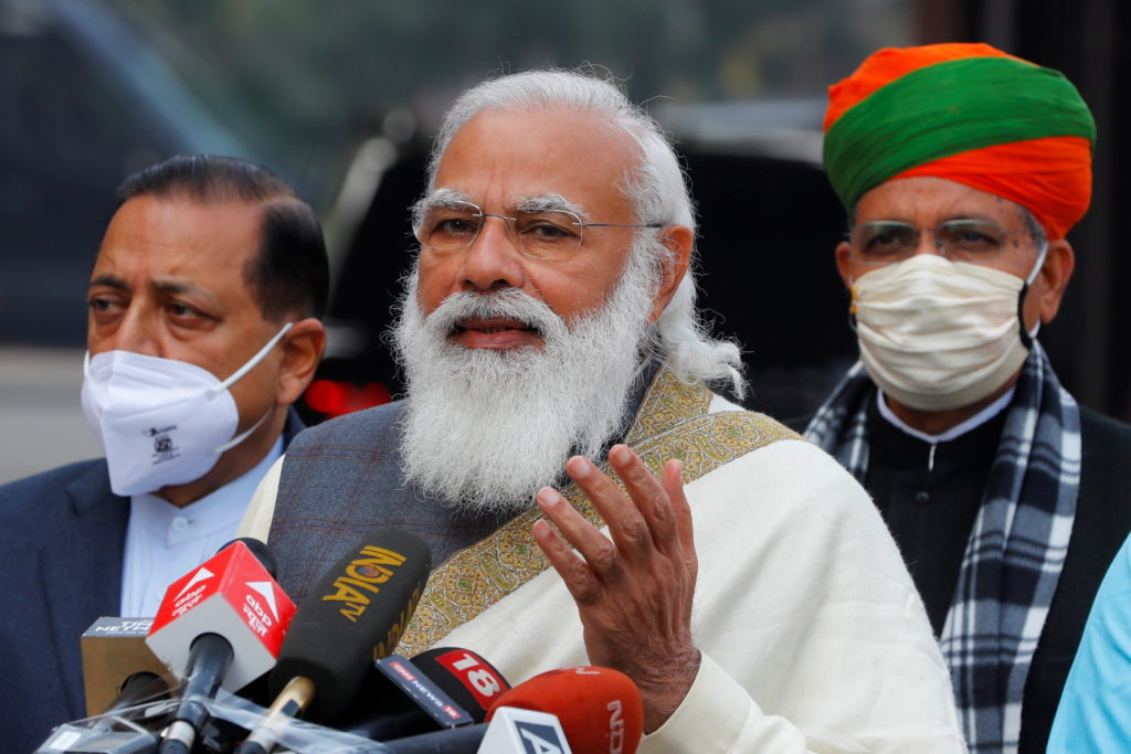 Modi meets Kashmir leaders for the first time after altering region