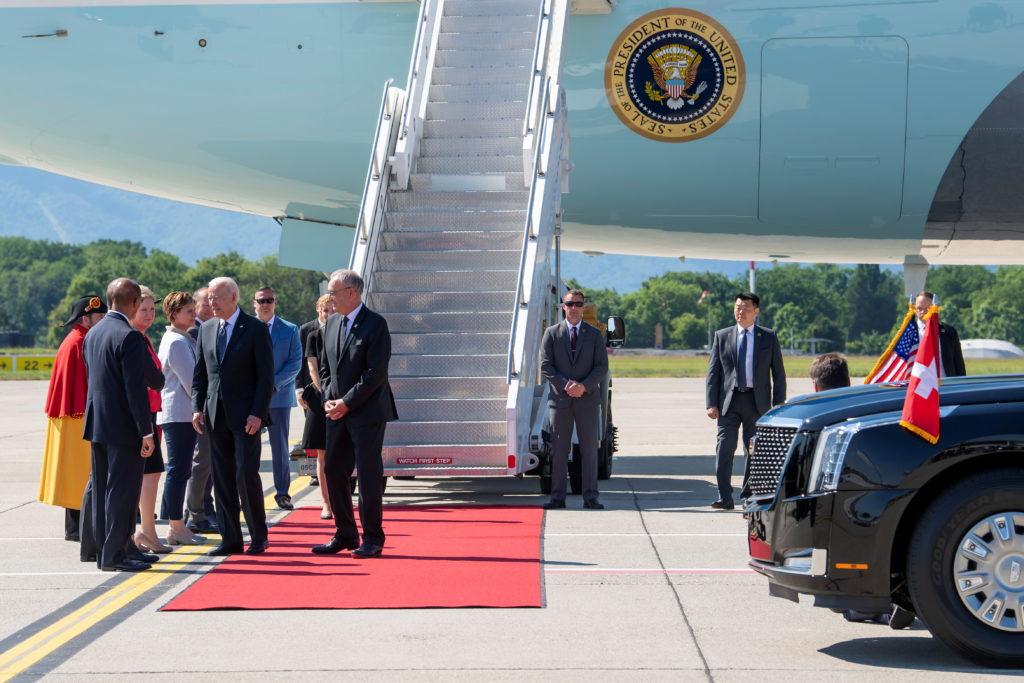 Biden arrives in Geneva ahead of highly-anticipated Putin meeting