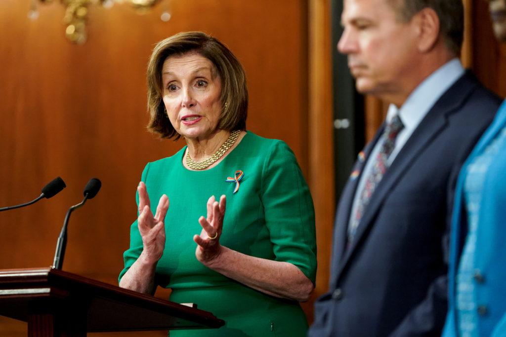 WATCH: Pelosi calls Supreme Court ACA decision a 'landmark victory'