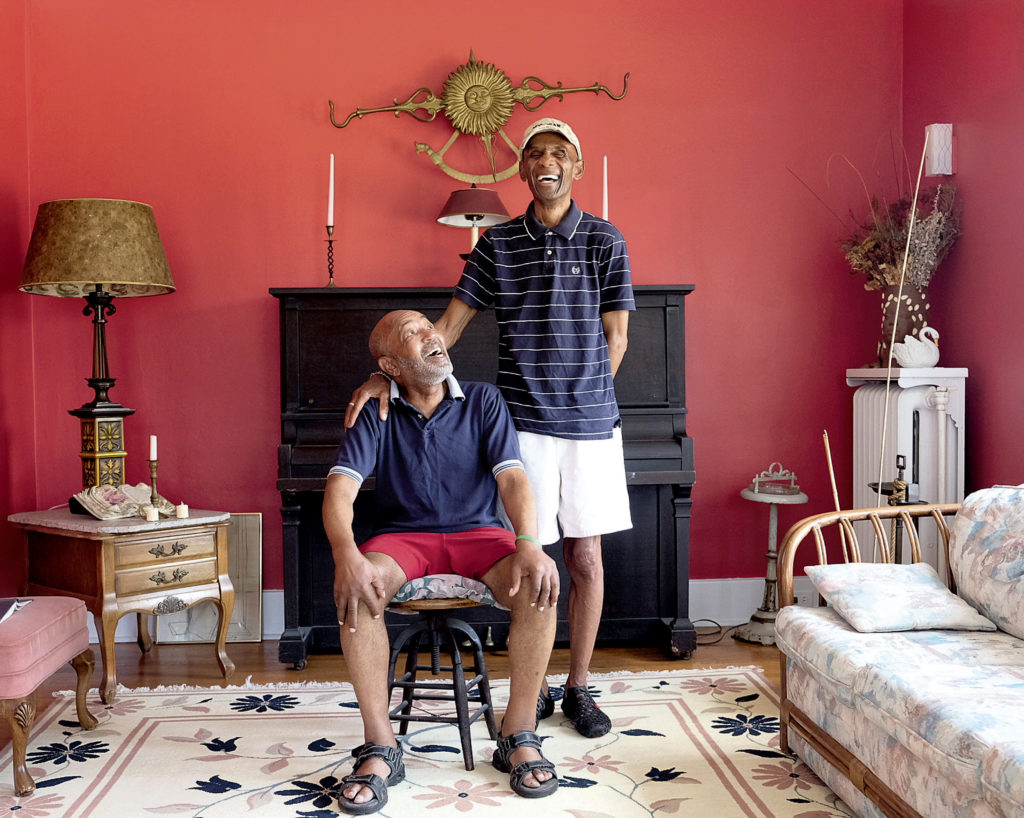 A photographer shines a light on queer couples of color