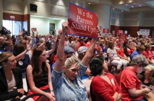Loudoun County, Virginia parents protest critical race theory