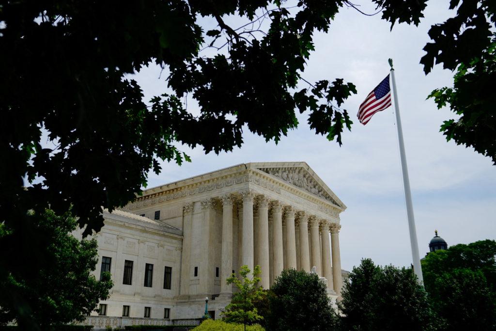 A general view of the U.S. Supreme Court in Washington, U.S. in Washington, U.S., May 22, 2021.
